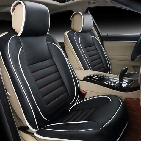 housse siege voiture cuir leather auto seat covers kmishn