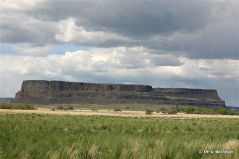 Steamboat Rock by Steamboat Rock Washington Wildflowers And Vistas Galore