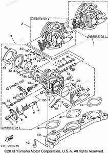 Yamaha Waverunner Parts 1995 Oem Parts Diagram For Carburetor