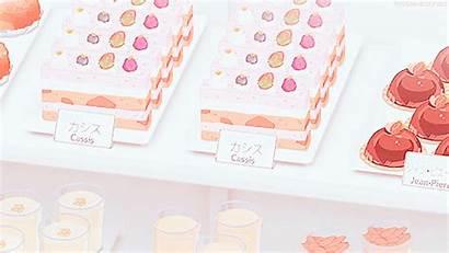 Pastel Anime Mochi Pink Dessert Strawberries Vu