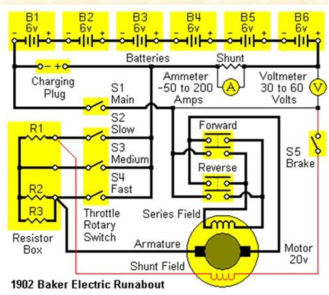Ev Motor Wiring Diagram by Auto Museum