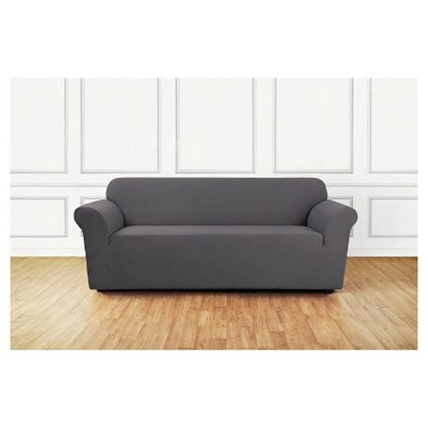 Target Sofa Slipcovers Blue by Stretch Leaf Sofa Slipcover Sure Fit Target