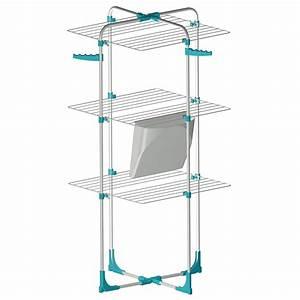Sechoir A Linge Ikea : etendoir tour blanc bleu ulyss leroy merlin ~ Dailycaller-alerts.com Idées de Décoration