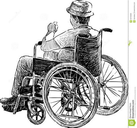 personne dans le fauteuil roulant photo stock image