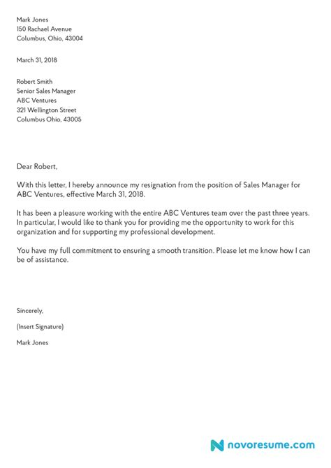 Pin by MoviBeat on Featured | Resignation letter, How to write a resignation letter, Letter example