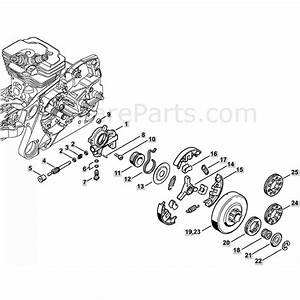 Stihl Ms 362 Chainsaw  Ms362  U0026 C  Parts Diagram  Oil Pump