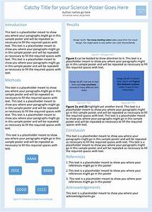Tips For Poster Presentations