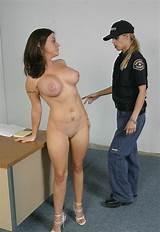 Lesbian stripsearch at jail video