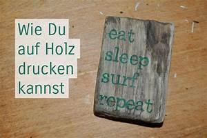 Foto Auf Holz Bügeln : treibholzeffekt wie du fotos auf holz drucken kannst treibholzeffekt ~ Markanthonyermac.com Haus und Dekorationen