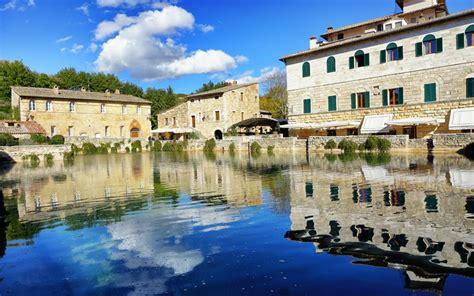 Bagno Di Vignoni by Le Terme Di Bagno Vignoni Benessere In Val D Orcia