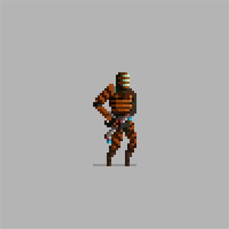 30 Creative Pixel Art Characters Design Graphic Design