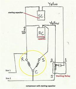 Aircon Compressor Wiring Diagram