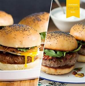 Bun Bun Burger Schwenningen : homemade poppy seed burger buns love and olive oil ~ Avissmed.com Haus und Dekorationen