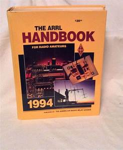 The Arrl Handbook For Radio Amateurs 1994 Year By American