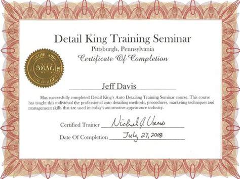 certificates  training  awards