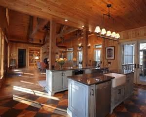 rustic open floor house plans rustic open kitchen floor