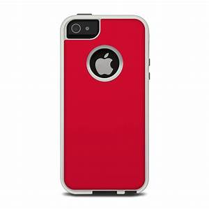 Solid State Red OtterBox Commuter iPhone 5 Skin - Covers ...