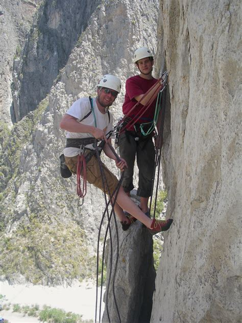 Rock Climb Mexico Mountain Skills Climbing Adventures