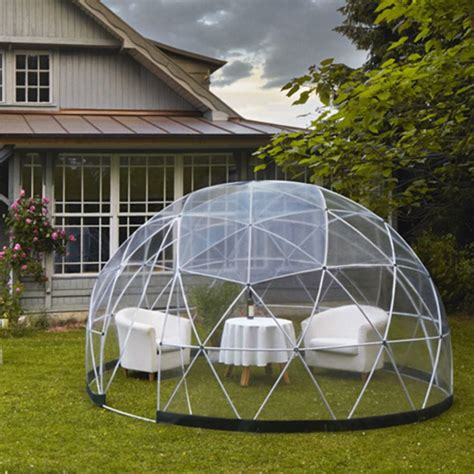 garden igloo tente transparente jardin d hiver abri