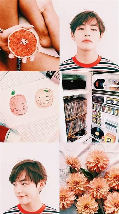 Bts Taehyung Aesthetic Desktop Wallpapers Tae Kpop