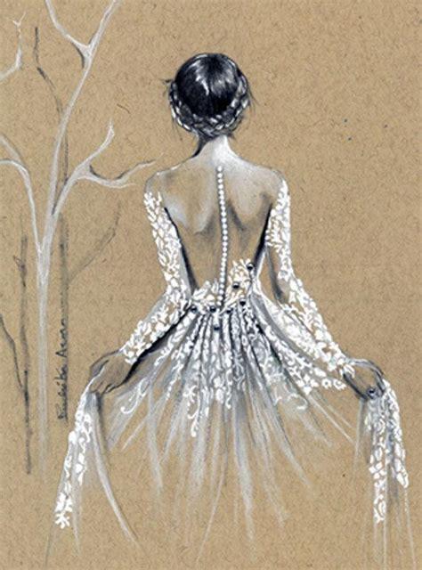 Custom Fashion Illustration Custom Bridal Sketch Wedding