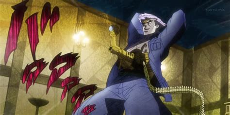 anime characters fight jojo top 10 jojo characters anime tree