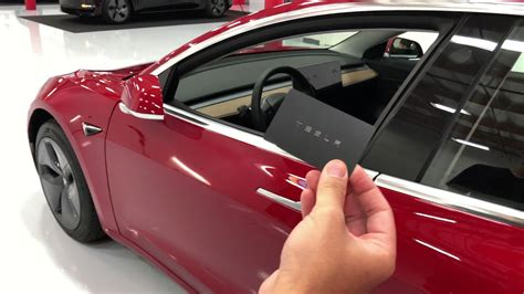 Maybe you would like to learn more about one of these? Tesla Model 3 key (card) - YouTube