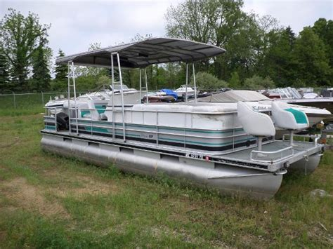 Used Pontoon Boats For Sale In Me by Classic Boats New And Used Boats For Sale