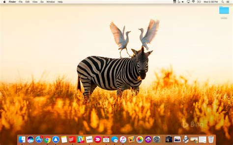 automatically set bings daily photo   mac wallpaper