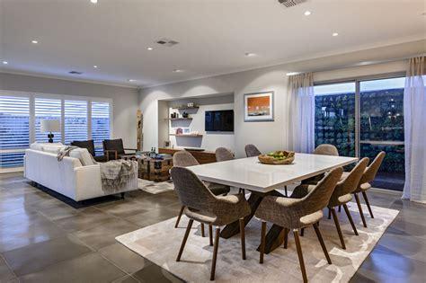 faux plafond cuisine ouverte diseño de casa moderna de dos pisos fachada e interiores
