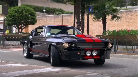 1967 ford shelby mustang gt500 1967 shelby mustang gt500 eleanor on the streets of monte