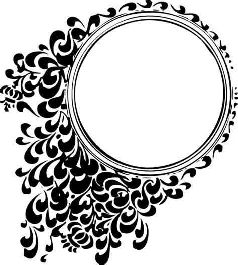 filigree circle clip at clker vector clip royalty free domain