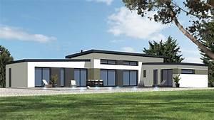 Maison Sans Toit : plan maison plain pied toit monopente ~ Farleysfitness.com Idées de Décoration
