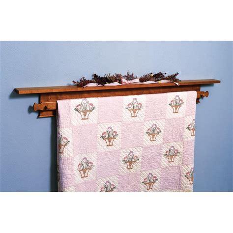 shaker quilt hanger woodworking plan  wood magazine