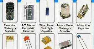 Electrical Engineering World: Types of Capacitors and ...