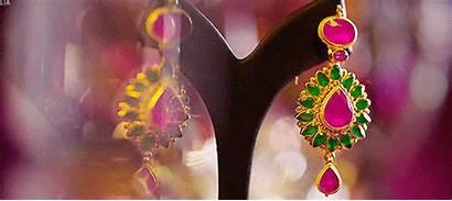 Gifs Jewelry Earrings Divs Jewellery Diamond India