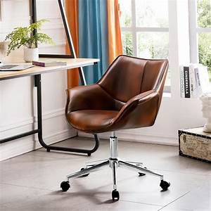 Ovios, Office, Chair, Leather, Computer, Chair, For, Home, Office, Or, Conference, Swivel, Desk, Chair, With