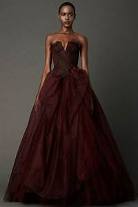 colored wedding dressesready to make a powerful fashion With brown wedding dresses