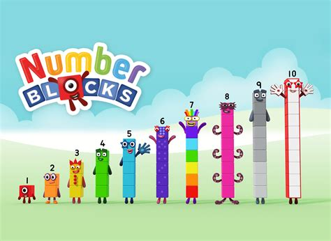 Humanized Cast Of Numberblocks (2017)