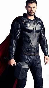 Chris Hemsworth As Thor In Avengers, Full HD 2K Wallpaper