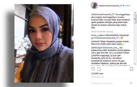 Kutipan Menginspirasi Nikita Mirzani Usai Berhijrah