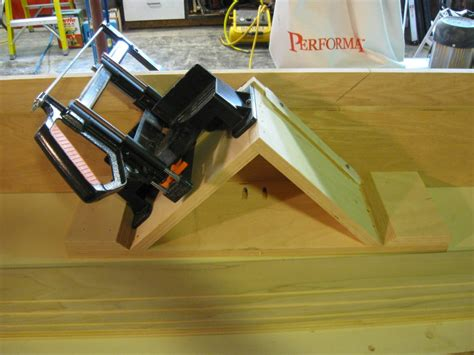 jack miter jig finish carpentry contractor talk