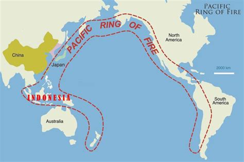 continents   ring  fire expand  quora