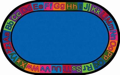 Rug Abc Preschool Clipart Classroom Rugs Circle