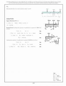 6 34 Draw The Shear And Moment Diagrams For Cantilever