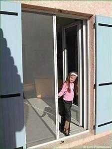 Moustiquaire Porte Fenetre Enroulable : double porte moustiquaire ~ Dode.kayakingforconservation.com Idées de Décoration