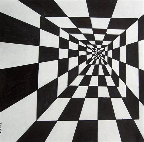 draw optical illusions templates optical illusion drawings template business