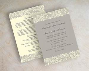 lace printed wedding invitations sang maestro With wedding invitation printing montreal