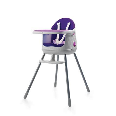 chaise haute b 233 b 233 multi dine 3 en 1 violet de babytolove