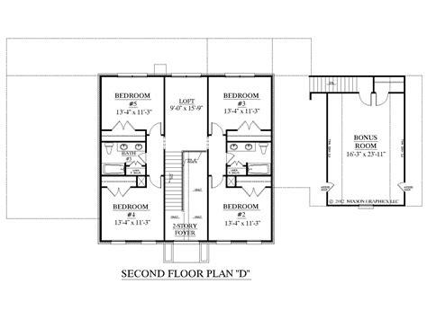 2 bedroom house floor plans houseplans biz house plan 3397 d the albany d